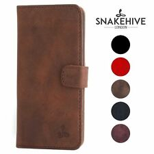 Snakehive® Samsung Galaxy S3 Mini Vintage Leather Wallet Phone Case w/Card Slots