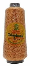 Telephone 100% Polyester 400 Mtr Sewing Embroidery Metallic Thread Yarn 1 Piece