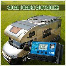 10/20/30A Solar Panel Battery Regulator Charge Controller 12/24V Auto USB