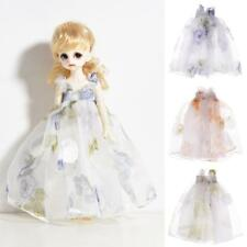 Tulle Dress Skirt For 1/6 BJD Blythe Neo MSD DOD Dollfie LUTS Clothes Outfits