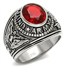 United States Army Stainless Steel Mens Ring SIZE 8-13 TK414706