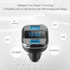 E5 Car Dual Port USB Charger Adapter For GPS phone tablet Camera MP3 PSP lot GD