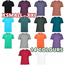 Mens Heather Triblend tee T-Shirt Tshirt Silky Combed Soft Draping lot