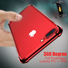 For Apple iPhone 8 Plus 7 Ultra Thin Slim Shockproof Full Body Hybrid Case Cover