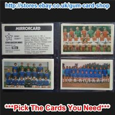 ☆ Daily Mirror - Mirrorcards Star Soccer Sides 1971-72 (G) *Please Select Card*