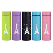 New Thermos Cup Eiffel Tower Mug Vacuum Flask Stainless Steel Insulated 260ML...