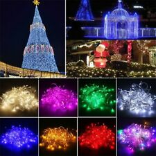 100/300/500 LED Christmas Fairy String Light Xmas Wedding Party Lamp In/Out Door