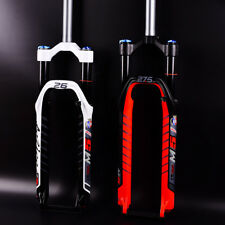 """26""""/27.5"""" Bike Fork MTB Mountain Bicycle Light Weight Air Suspension Forks 2018"""