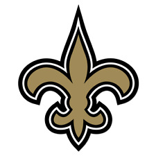 New Orleans Saints Lanyard/Keychain (NFL Officially Licensed Product)