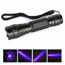 UV Ultra Violet CREE WF501B 365NM Multi Function Blacklight Flashlight Torch HOT