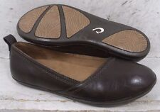 Olukai Womens Alahula Dark Brown Slip On Flats Shoes 20314-4848 size 8 M