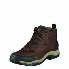 Ariat Men's Terrain English Riding Boots Lace-Up Endurance Footwear Brown Work