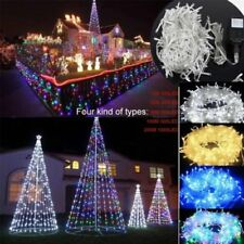 100/300/500 LED String Fairy Lights Xmas Tree Ourdoor Wedding Party Decoration