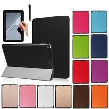 For iPad 9.7 2017 Release Smart Leather Case Stand Folio Cover+Film+Stylus