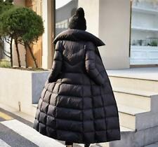 stylish womens duck down hooded long Jacket coat parka new outerwear winter G531