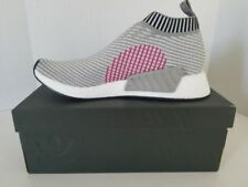 Adidas NMD CS2 PK Core Grey Shock Pink BA7187 City Sock Mens Sizes