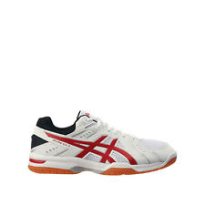 Asics Rivre EX 7 [TVR482-0123] Men Volleyball Badminton Shoes White/Red-Gum