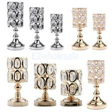 Crystal Home Wedding Event Table Tealight Votive Candle Holder Candlestick PICK