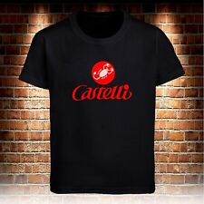 Castelli Cycling Bike Black T-shirt Mens Tshirt S to 3XL