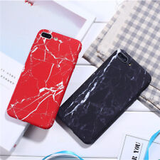 Hard Hybrid Apple iPhone Case 360° Full Protect Marble Pattern Cover Skins