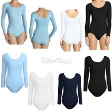 Adult Womens Ballet Leotard Gymnastics Dance Wear Bodysuit Dancer Leotard Cotton