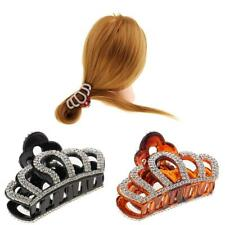 Gorgeous Large Hair Candy Color Acrylic Rhinestone Claw Clip Accessory
