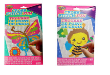 Kids Cross Stitch Kit, Learn to Cross Stitch, My First Beginner Gift Craft Set