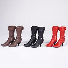1/6 Scale High Heeled Boots Shoes for 12inch Female Action Figure Phicen Body