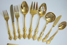 Reed & Barton Gold Plated Duchess of Marlborough Stainless - Buy Your Choice