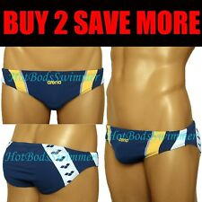 Arena AST13121NB Men's Low-Rise Competition Swimwear Navy/White