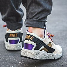 Nike AIR HUARACHE RUN PREMIUM Beige Size 7-12 Mens Sneaker shoes 704830-200