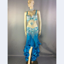 Womens belly dance costume performance wear belly dance suit dancing clothes set