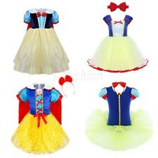Infant Baby Girl White Princess Costume Halloween Xmas Cosplay Party Fancy Dress