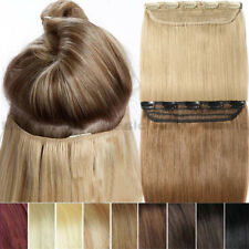 Deluxe 5A+ One Piece SALE Clip In Remy 100% Human Hair Extensions UK Stock A004