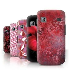 STUFF4 Back Case/Cover/Skin for Samsung Galaxy Gio/S5660/Red Fashion