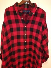 Polo Ralph Lauren Button Down Lumberjack Plaid Flannel Lined Shirt