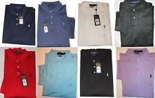 Polo Ralph Lauren Interlock Polo Shirt Classic Fit Soft Touch New NWT Mens M-XL