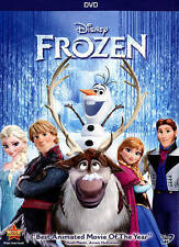 Frozen (DVD, 2014) Disney Rated PG Amimated Children's Christmas
