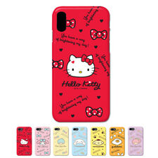 Hello Kitty Characters Protect Hard Protect Bumper Case For Apple iPhone X 10