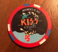 KISS Kruise VII $5 Poker Chip - SOLD OUT!