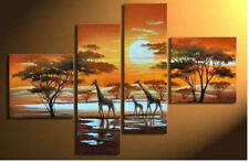 Huge Abstract Art Oil painting Wall Decor Hand-painted on Canvas Tree