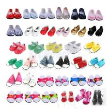 For 18 inch American Girl Doll My Life Shoes Clothes Cavans Sneakers Flats Dress