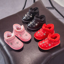 New Toddler Baby Winter Shoes Lights Kids Girl Snow Boots Children Fashion Boots