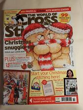 Christmas Editions, The World Of Cross Stitching Magazine, Copies From 2005-10.