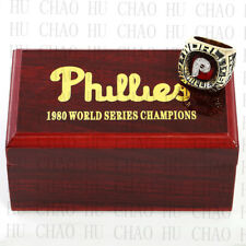 1980 Philadelphia Phillies World Series championship ring 10-13S Logo case