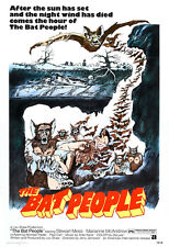 The Bat People Movie Poster Print - 1974 - Horror - One (1) Sheet Artwork