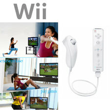 Brand New Remote Control Wiimote + Nunchuck + For Nintendo Wii Wii U Game SD