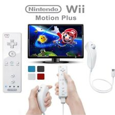 Details about  White Remote Wiimote Nunchuck Controller Set Combo for Nintendo