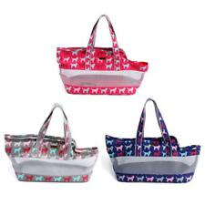 Ventilated Mesh Pet Cat Dog Carrier Tote Purse Handbag, Animal Travel Kennel Bag