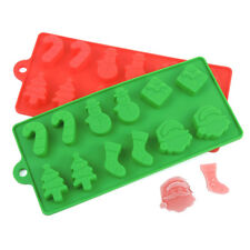 Christmas Snowman Silicone Cake Cookie Mould Baking Chocolate Mold Ice Cube Tray